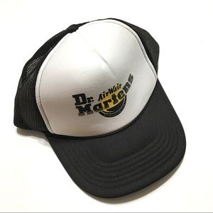 Dr. Martens Trucker Cap Black and White OS